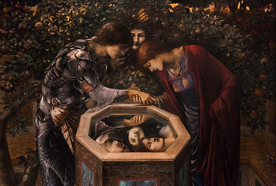 Fabian Fröhlich, Edward Burne-Jones exhibition, Tate Britain, The Baleful Head