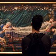 Fabian Fröhlich, Edward Burne-Jones exhibition, Tate Britain,Briar Rose / The Rose Bower