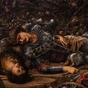 Fabian Fröhlich, Edward Burne-Jones exhibition, Tate Britain, The Briar Wood