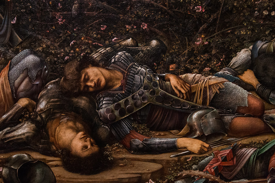 Fabian Fröhlich, Edward Burne-Jones exhibition, Tate Britain, The Briar Wood