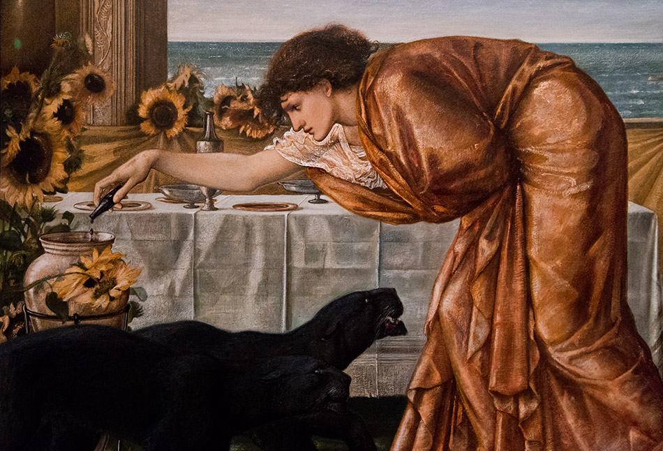 Fabian Fröhlich, Edward Burne-Jones exhibition, Tate Britain, The Wine of Circe