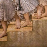Fabian Fröhlich, Edward Burne-Jones exhibition, Tate Britain, The Golden Stairs