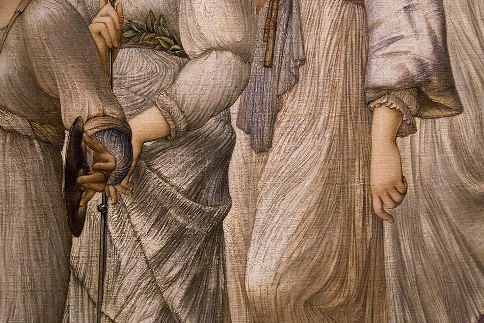 Fabian Fröhlich, Edward Burne-Jones exhibition, Tate Britain, The Golden Stairs