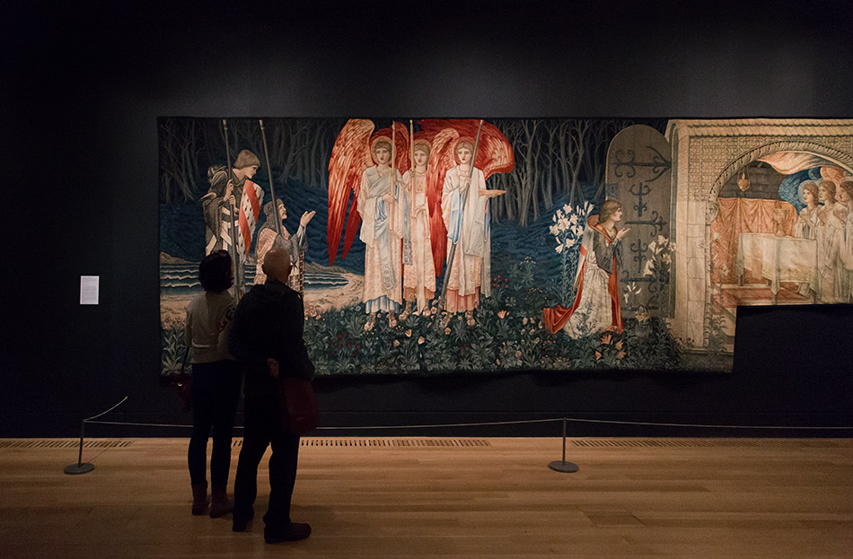 Fabian Fröhlich, Edward Burne-Jones exhibition, Tate Britain, The Attainment: The Vision of the Holy Grail