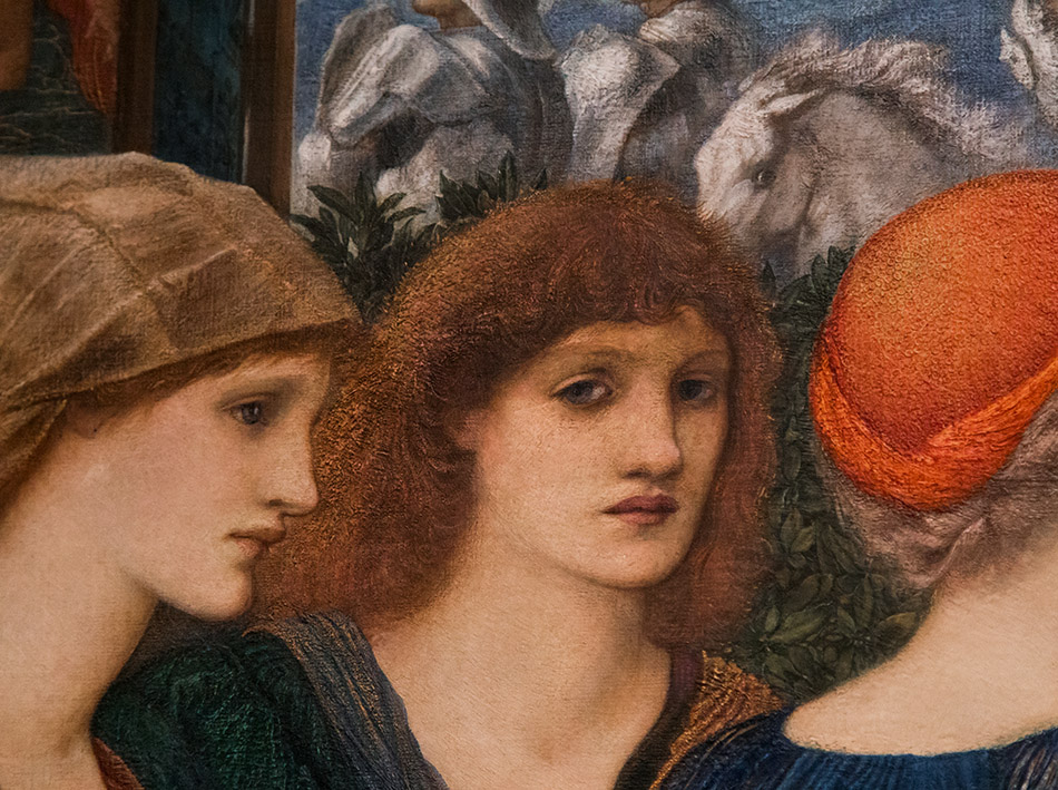Fabian Fröhlich, Edward Burne-Jones exhibition, Tate Britain, Laus Veneris