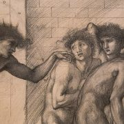 Fabian Fröhlich, Edward Burne-Jones exhibition, Tate Britain, Study for The Masque of Cupid