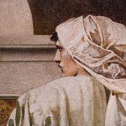 Fabian Fröhlich, Edward Burne-Jones exhibition, Tate Britain, The Pilgrim Outside the Garden of Idleness