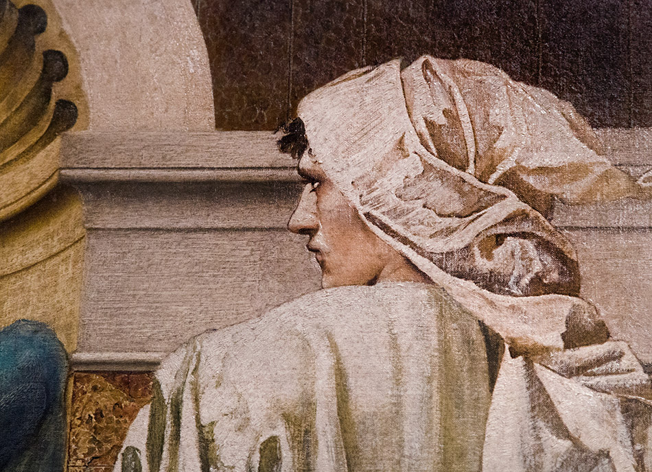 Fabian Fröhlich, Edward Burne-Jones exhibition, Tate Britain, The Pilgrim Outside the Garden of Idleness