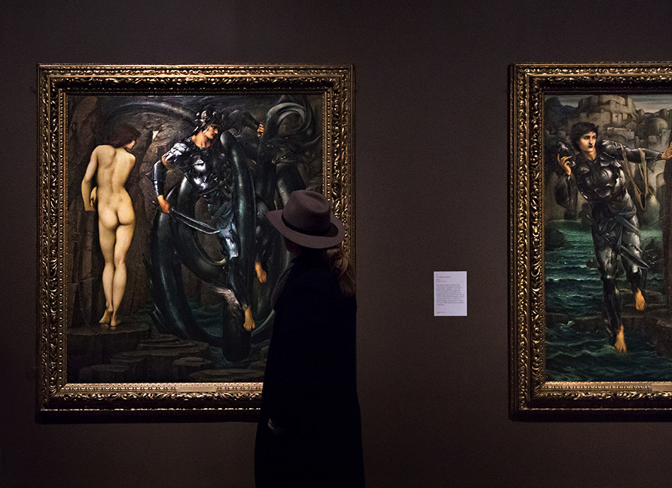 Fabian Fröhlich, Edward Burne-Jones exhibition, Tate Britain, Perseus Series