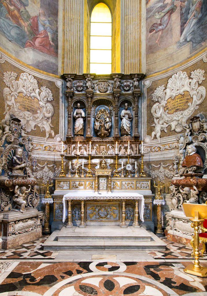 Fabian Fröhlich, Catania, Cattedrale die Sant'Agata, Capella di Sant'Agata