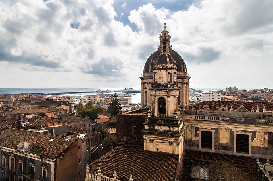 Fabian Fröhlich, Catania, View from Chiesa della Badia di Sant'Agata