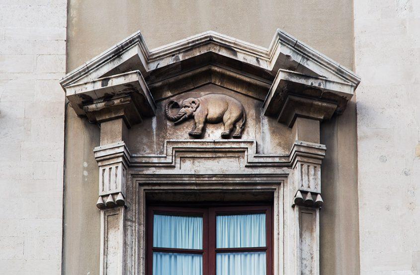 Fabian Fröhlich, Catania, Palazzo degli Elefanti
