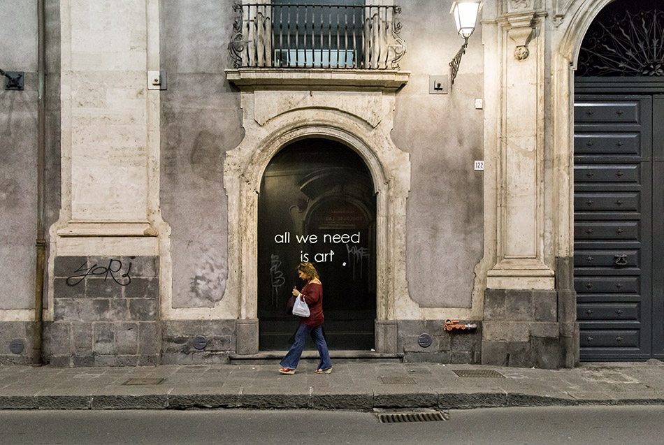 Fabian Fröhlich, Catania, Fondazione Puglisi Cosentino per l'Arte