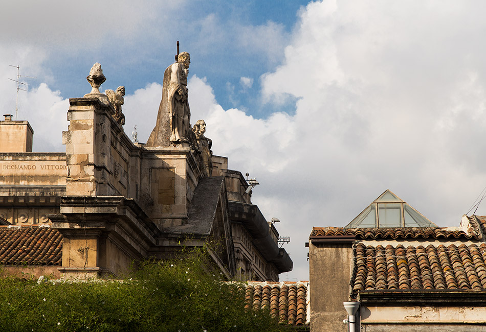 Fabian Fröhlich, Catania, Chiesa di San Biagio in Sant'Agata alla Fornace