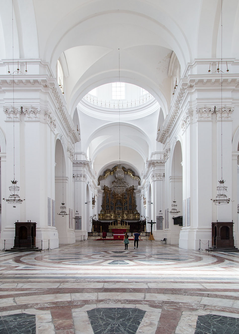 Fabian Fröhlich, Catania, Chiesa di San Nicolò l'Arena