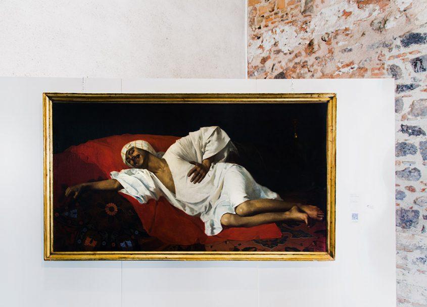 Fabian Fröhlich, Catania, Castello Ursino (Pasquale Liotta Cristaldi, The Effect of Hashish)