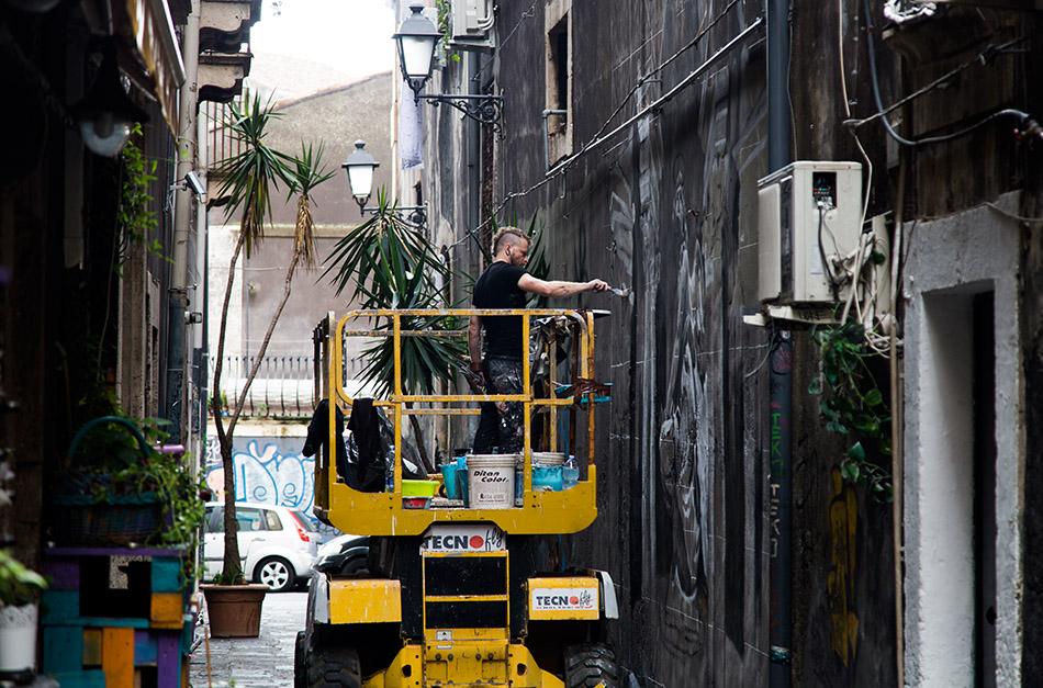 Fabian Fröhlich, Catania, Via Bonajauto