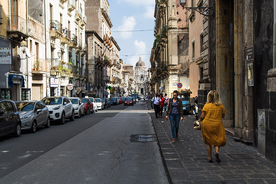 Fabian Fröhlich, Catania, Via Giuseppe Garibaldi