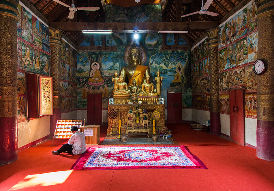 Fabian Fröhlich, Luang Prabang, Buddha Wat Aham