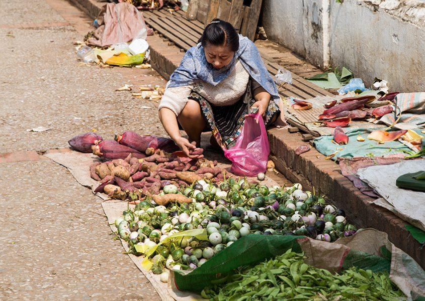 Fabian Fröhlich, Luang Prabang, Market