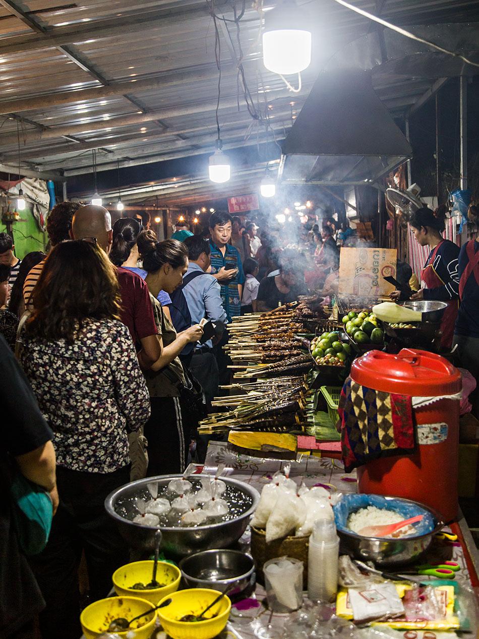 Fabian Fröhlich, Luang Prabang, Night Market