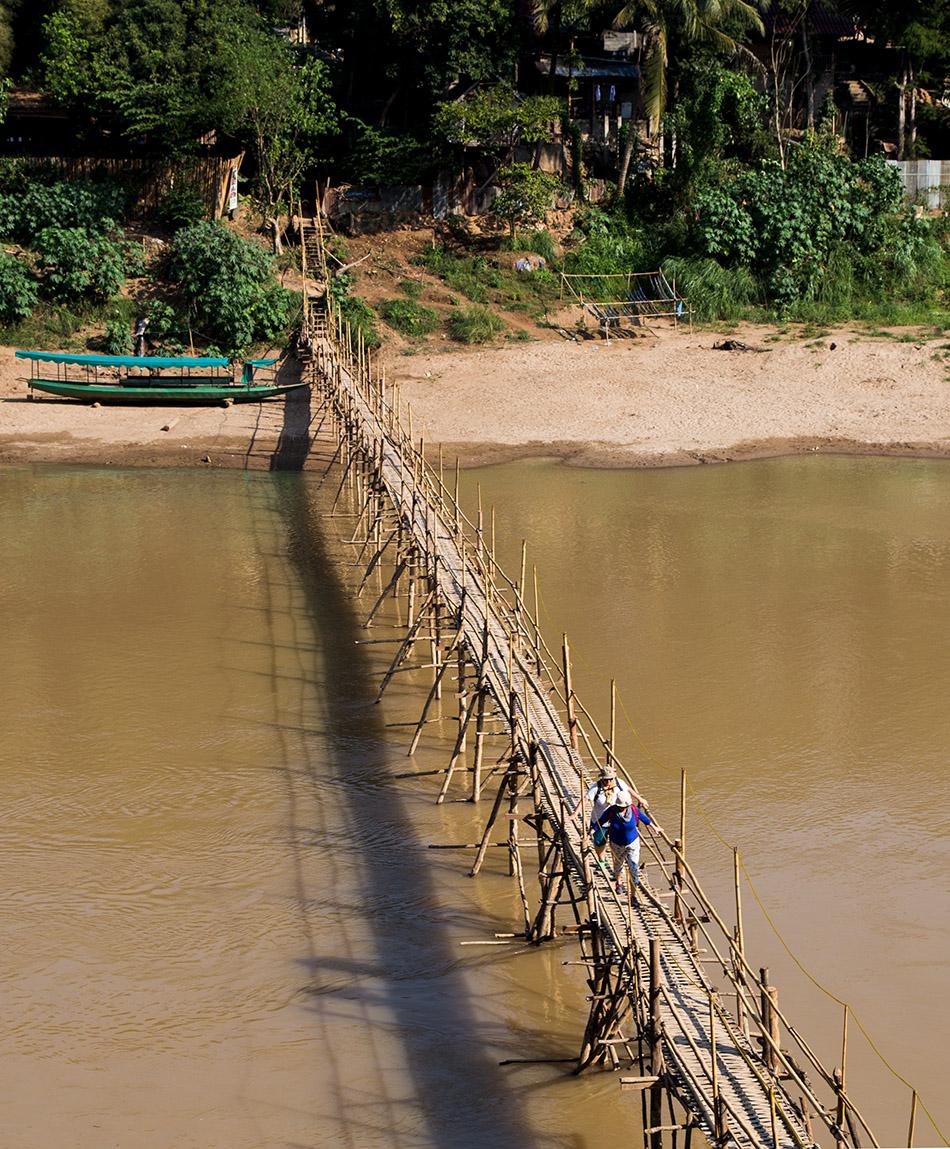 Fabian Fröhlich, Luang Prabang, Nam Khan River