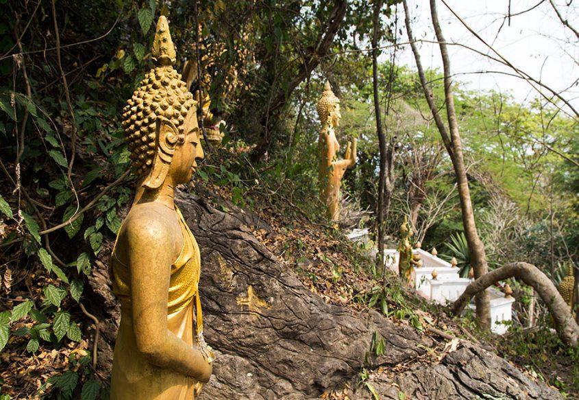 Fabian Fröhlich, Luang Prabang, Wat Tham Phou Si
