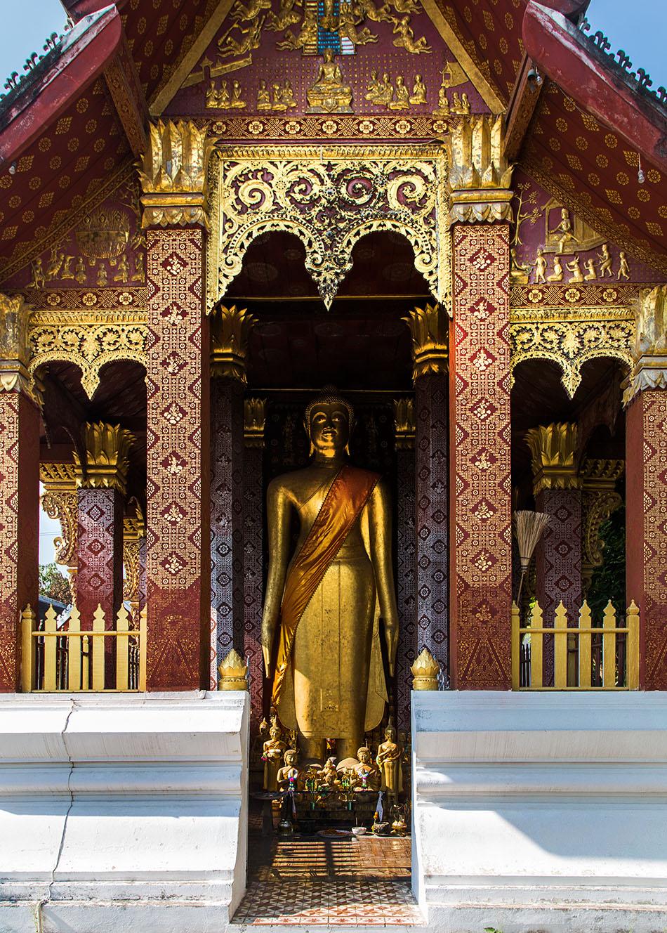 Fabian Fröhlich, Luang Prabang, Wat Sensoukaram