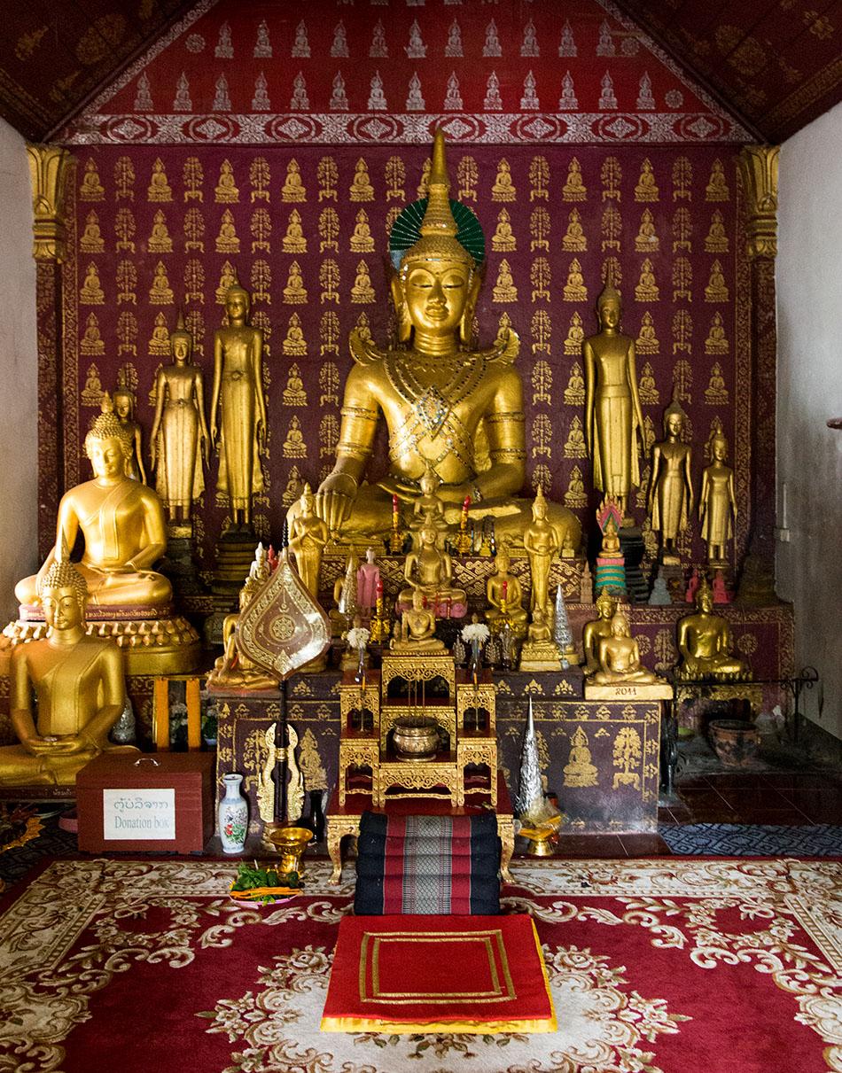 Fabian Fröhlich, Luang Prabang, Wat Sop Sickharam