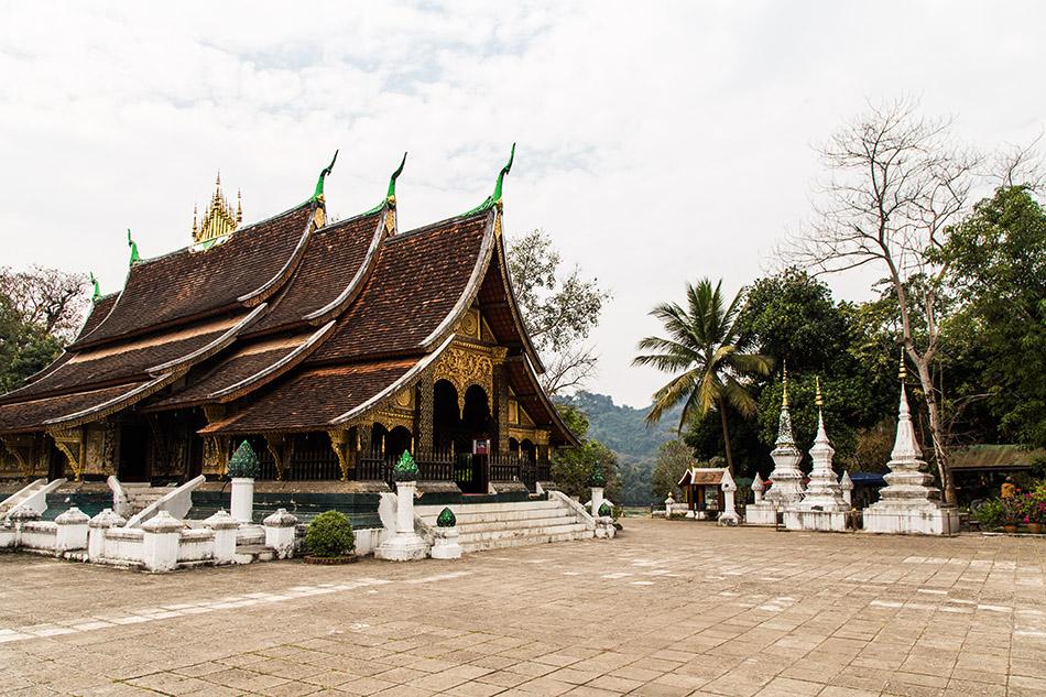 Fabian Fröhlich, Luang Prabang, Wat Xieng Thong, Sim