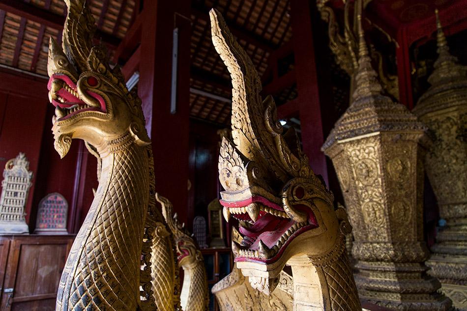 Fabian Fröhlich, Luang Prabang, Wat Xieng Thong, Royal Funerary Chariot Hall