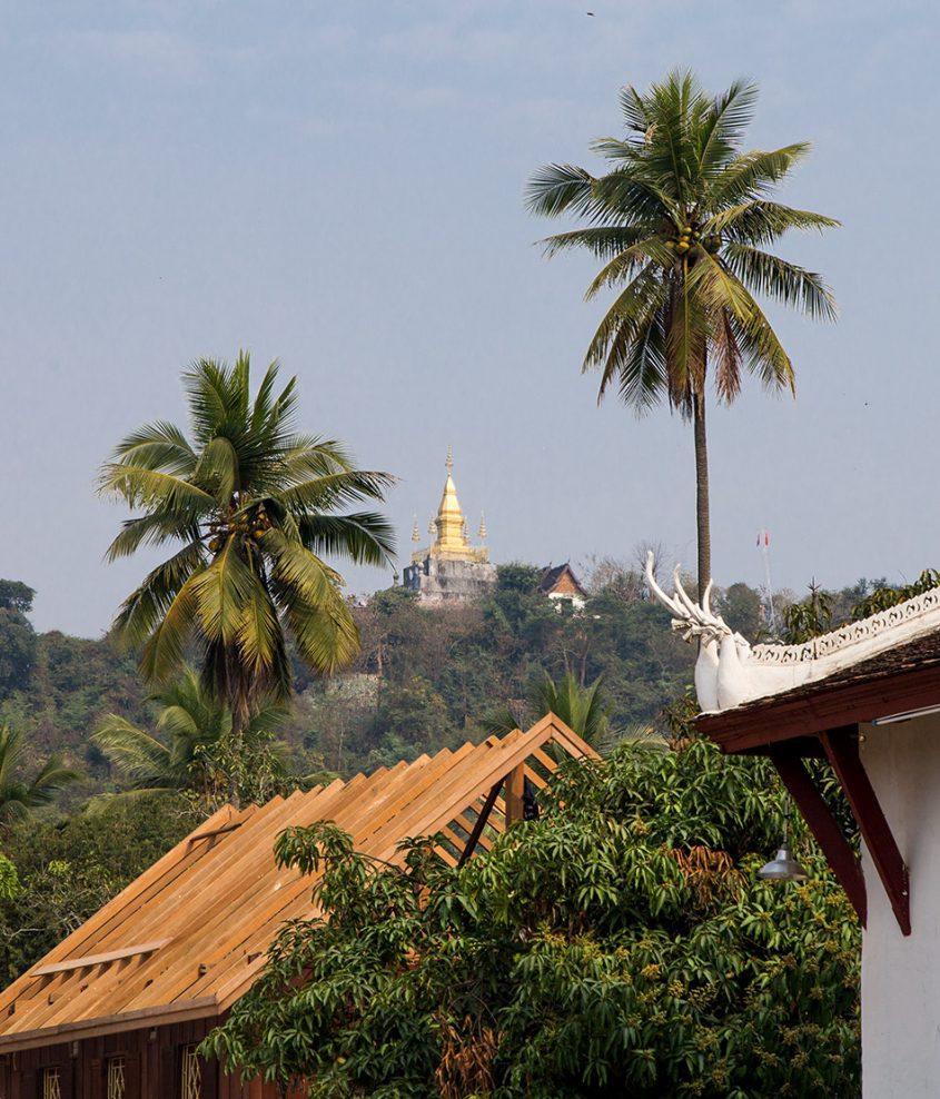 Fabian Fröhlich, Luang Prabang, Mount Phou Si