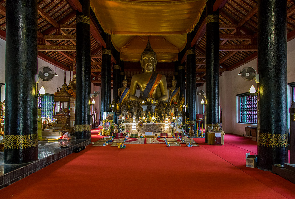 Fabian Fröhlich, Luang Prabang, Buddha at Wat Visounarath