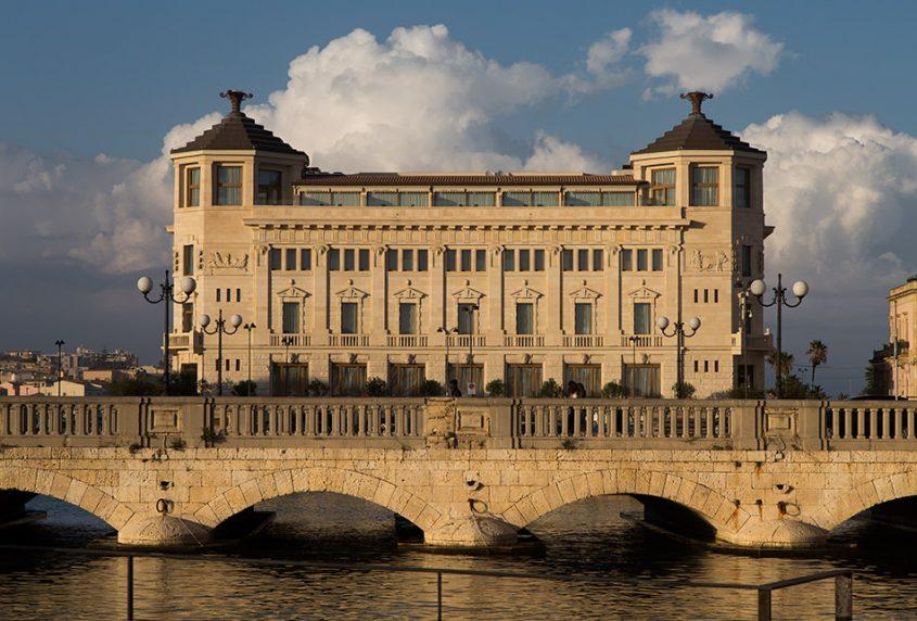 Fabian Fröhlich, Siracusa, Ortygia, Palazzo delle Poste