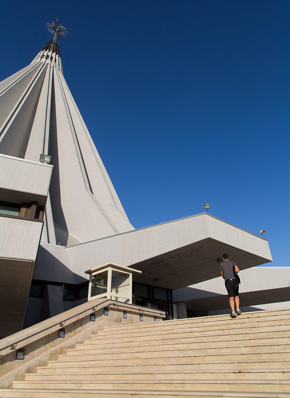 Fabian Fröhlich, Siracusa, Santuario delle Madonna delle Lacrime