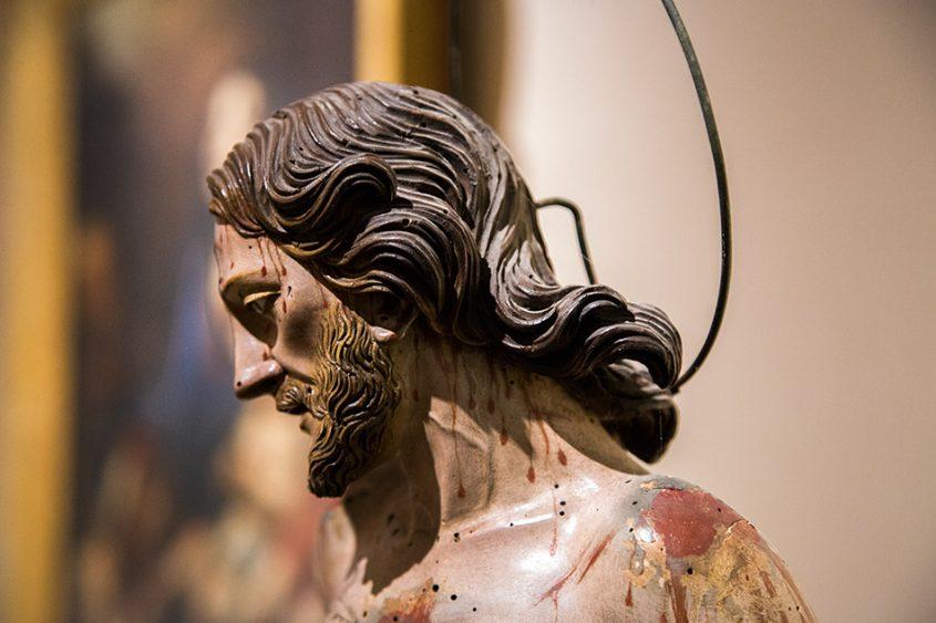 Fabian Fröhlich, Siracusa, Ortygia, Man of Sorrows at Museo Regionale di Palazzo Bellomo