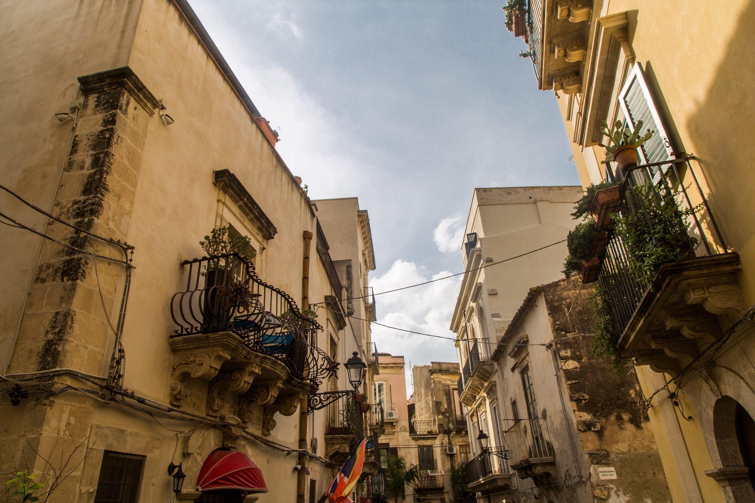 Fabian Fröhlich, Siracusa, Ortygia, Street view