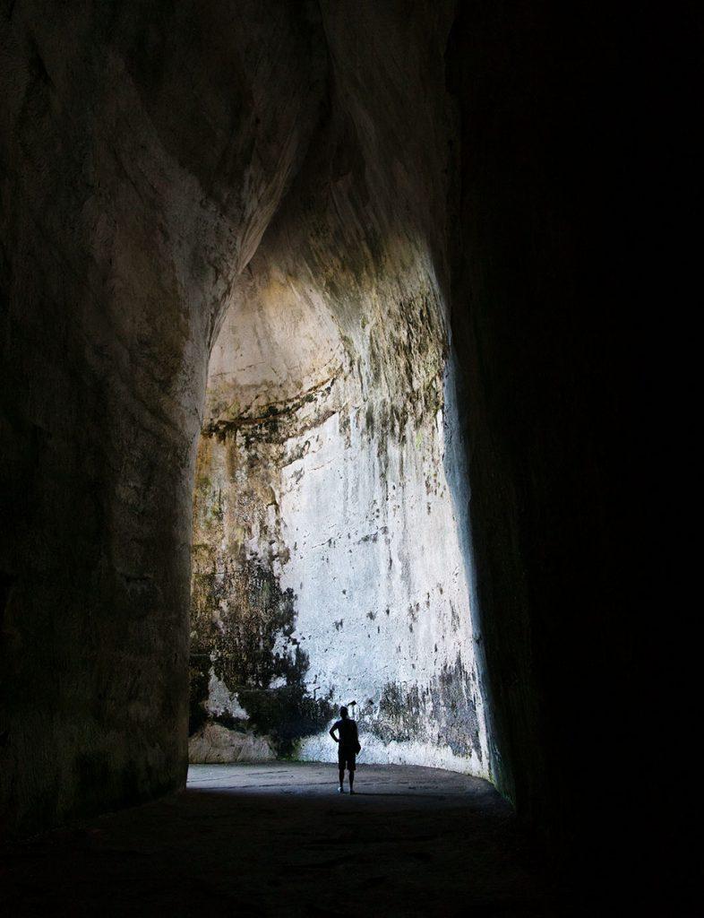 Fabian Fröhlich, Siracusa, Parco Archeologico della Neapoli, Parco Archeologico della Neapoli, Orecchio di Dionisio