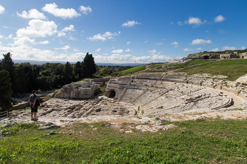 Fabian Fröhlich, Siracusa, Parco Archeologico della Neapoli, Parco Archeologico della Neapoli, Teatro Greco