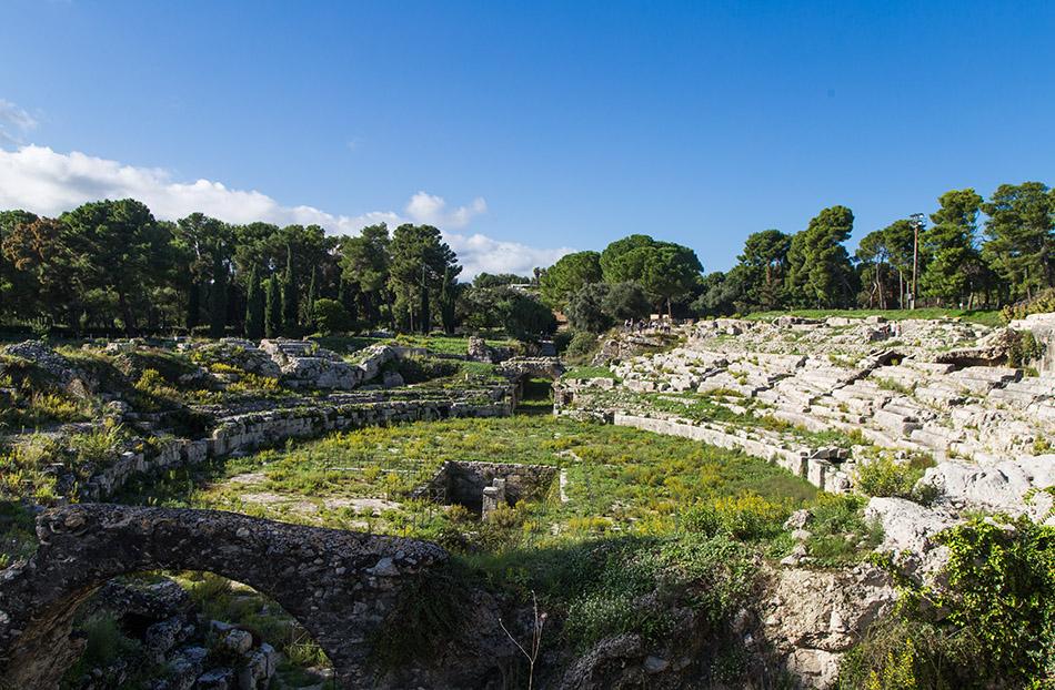 Fabian Fröhlich, Siracusa, Parco Archeologico della Neapoli, Teatro Romano
