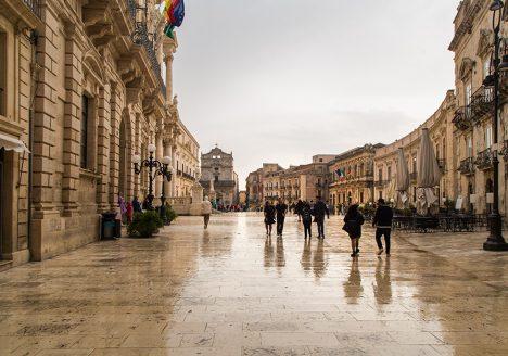 Fabian Fröhlich, Siracusa, Ortygia, Piazza Duomo