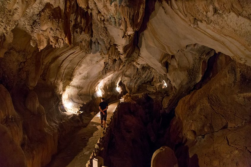 Fabian Fröhlich, Vang Vieng, Tham Chang Cave
