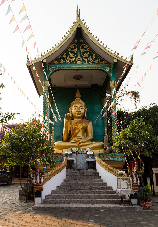 Fabian Fröhlich, Vang Vieng, Buddha at Wat That