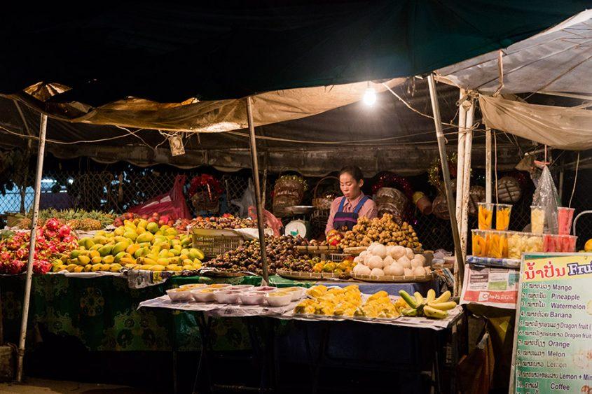 Fabian Fröhlich, Vang Vieng, Night Market