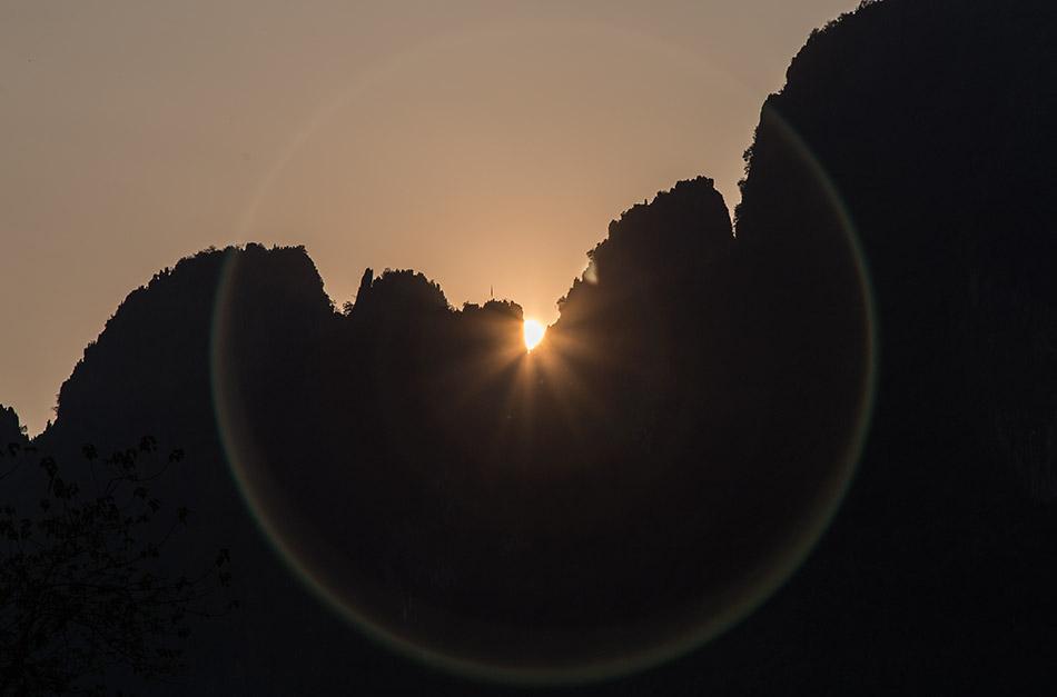 Fabian Fröhlich, Vang Vieng, Sunset