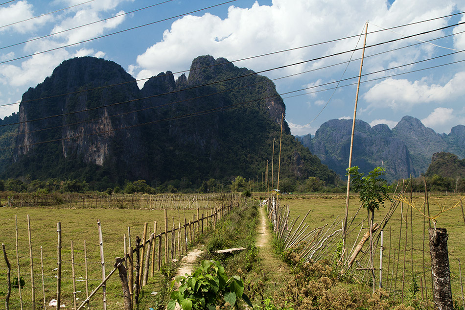 Fabian Fröhlich, Vang Vieng, Limestone carst mointains