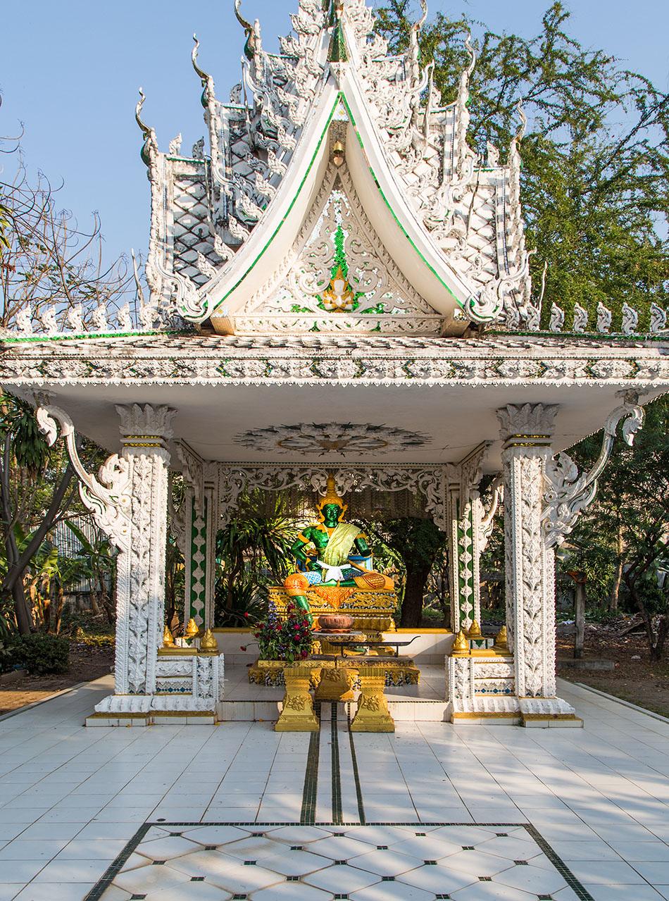 Fabian Fröhlich, Vientiane, Wat Ong Teu