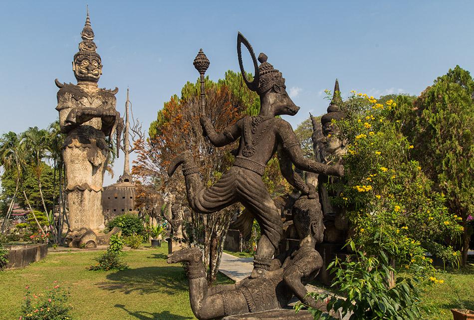 Fabian Fröhlich, Vientiane, Buddha Park Xieng Khouang