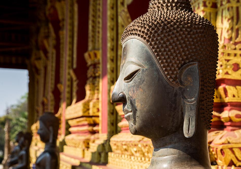 Fabian Fröhlich, Vientiane, Buddha at Haw Phra Kaew Museum