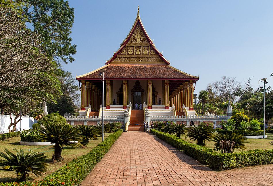 Fabian Fröhlich, Vientiane, Haw Phra Kaew Museum